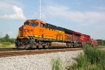 BNSF 3797 with a shortie but a goodie