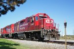 CP 3000 pulls south toward WIS-19